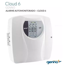 Central De Alarme Auto Monitorável Genno Cloud 6 +tx