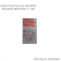 Disco Do Encoder 17mm Leitor Motor Ppa Dz Rio E Bv Levante