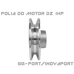 Polia Do Motor Deslizante Robot 1hp Gg-port/inovaport